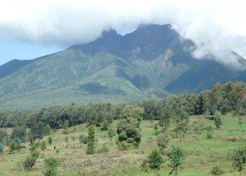 Volcanoes National Park Sabyinyo Mountain
